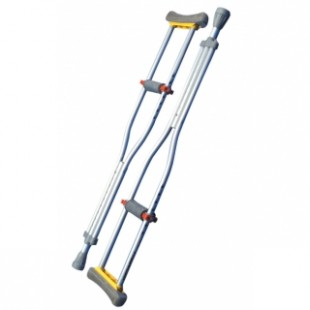 Adjustable Aluminum Crutches - Available for Biweekly Rental $10 or Monthly Rental $20